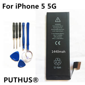 1440 mAh for iphone 5 battery 3.8 V Li-ion Internal Battery Replacement battery for
