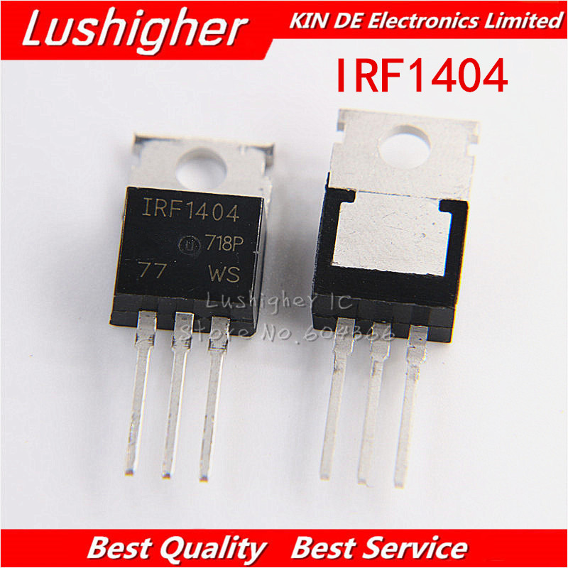 50PCS MOSFET Transistor IR TO-220 IRF1404 IRF1404PBF