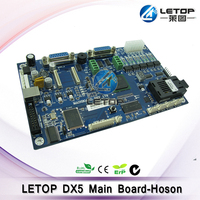 double head dx5 zhongye main board for zhong dx5 eco solvent printer