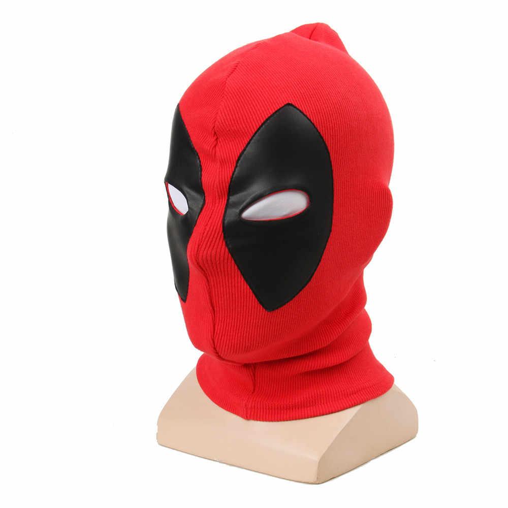 X Men-Estagiário Máscaras de Super-heróis Deadpool Traje de Halloween Cosplay Completa Rosto Máscara Balaclava Chapéus Chapelaria Partido Pescoço Capuz