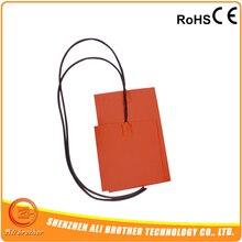 220 В 350 Вт силиконовый Нагреватель pad 245X245 мм с клейкой задней и 100 к термистор/NTC термистор
