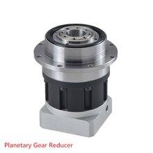 Высокая точность LRH90-19mm планетарный редуктор диск Тип, 8 угл точность, 19 мм Вход отверстие для NEMA32 80 мм серводвигатель