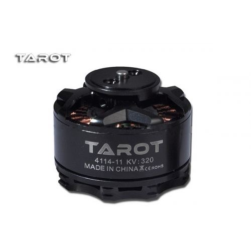 Tarot 4114 320KV multi axis brushless motor Black TL100B08 01