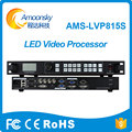 Bühne vermietung led-bildschirm kreative dj led-anzeige sdi video prozessor videowand-controller AMS-LVP815S vergleichen vdwall lvp605S