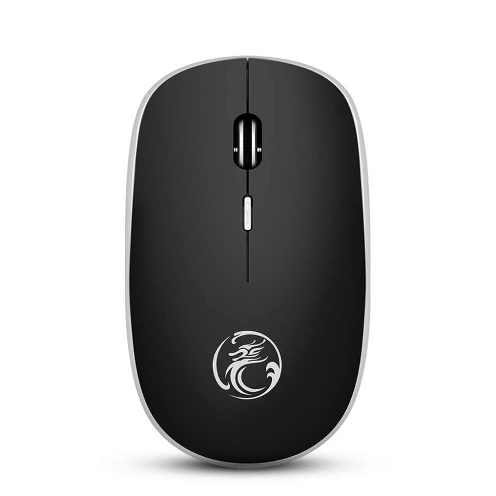 IMice G-1600 اللاسلكية ماوس صامتة هادئة 4 زر USB اللاسلكية للمحمول PC 4.22