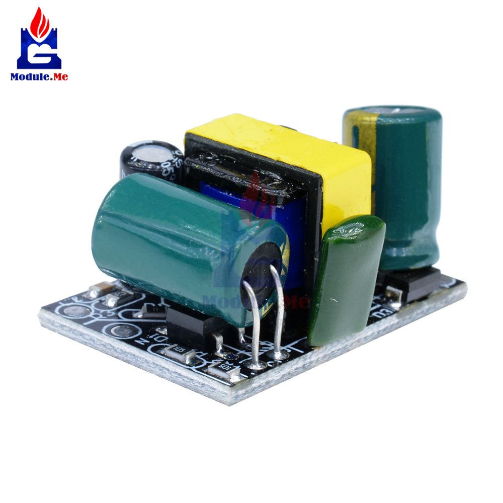 Понижающий преобразователь напряжения 5 В, 800 мА, понижающая плата, 110 В, 220 В в постоянный ток, 5 В, модуль питания для изоляции напряжения Arduino