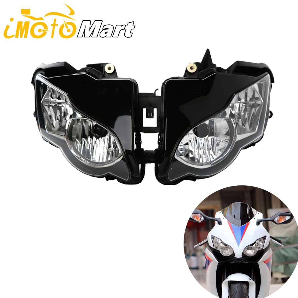 Motorcycle <font><b>Parts</b></font> Front Headlight Head Light Lamp Headlamp Assembly Kit For Honda <font><b>CBR1000RR</b></font> <font><b>2008</b></font> 2009 2010 2011 CBR 1000RR 08-11 image