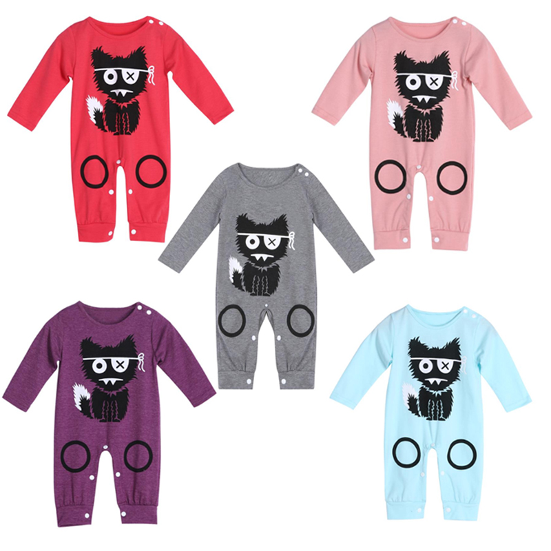Baby Boy Girl Warm Clothes Newborn Infant Long Sleeve Cartoon Rompers Cotton Jumpsuit Toddler Girl Clothing Kids Clothes Girls newborn baby girls rompers 100% cotton long sleeve angel wings leisure body suit clothing toddler jumpsuit infant boys clothes