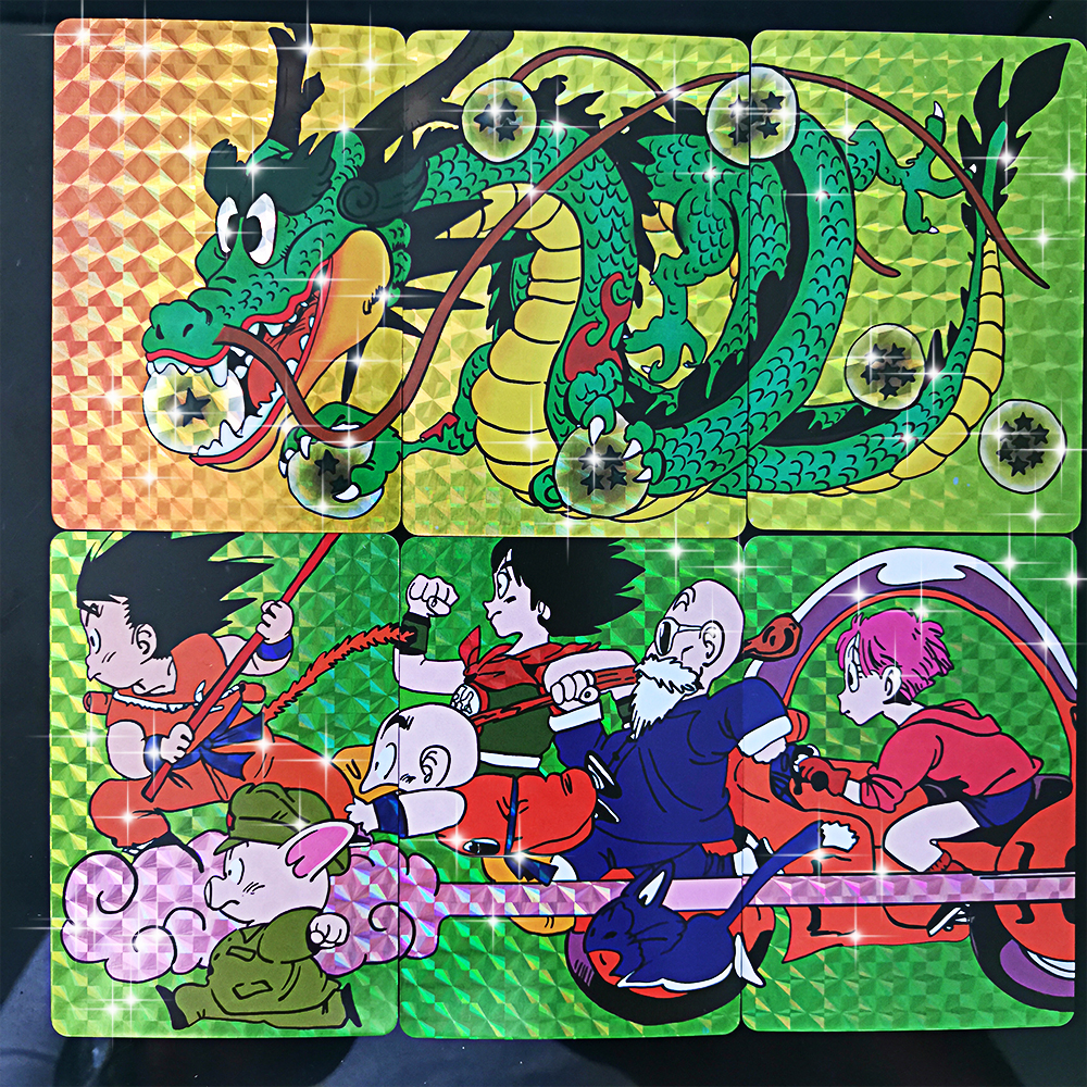 17pcs/set Super Dragon Ball Heroes Battle Card Ultra Instinct Goku Broly Game Collection Laser Flash Cards Super Long 17 In One