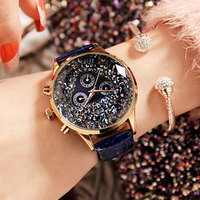2018 Watch Women Exquisite Top Luxury Diamond Quartz Ladies Watch Fashion Leather Wristwatch Women watches saat relogio feminino