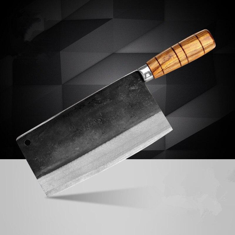 Livraison gratuite Deng couteaux fait à la main professionnel Chef couteau cuisine tranche viande légume multifonctionnel couteaux forgé couteaux