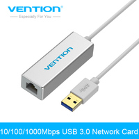Vention USB 3 0 To RJ45 Gigabit Lan Network Ethernet Adapter Card For Mac OS Android