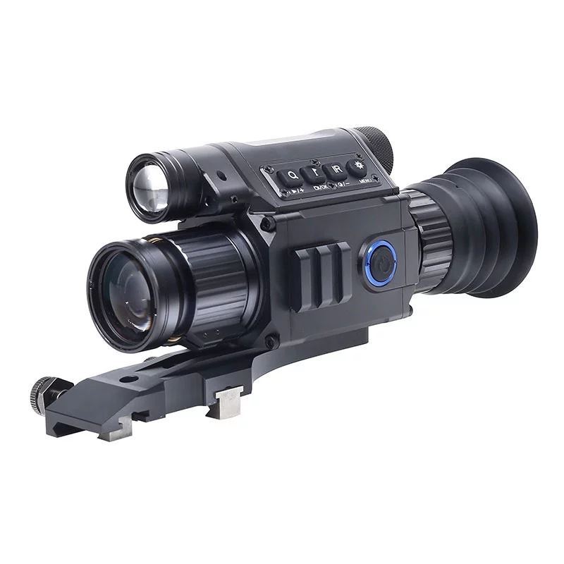 Drop Shipping PARD NV008 digital Night vision Monocular Camera 200M Riflescope Built in IR Red Laser Sight For hunting-in Night Visions from Sports & Entertainment