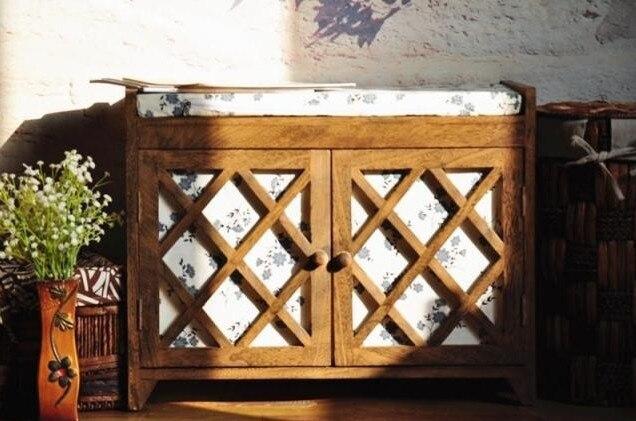 100% дерево корпусной шкаф для хранения многофункциональный шкаф, деревянная мебель деревянная обувь стул, деревянная полка для обуви