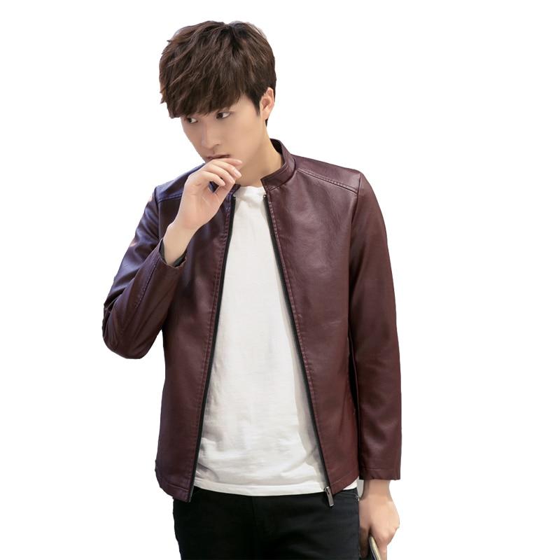 Novi Jesen Moda kožna jakna Muškarci Muške kožne jakne i kaputi - Muška odjeća