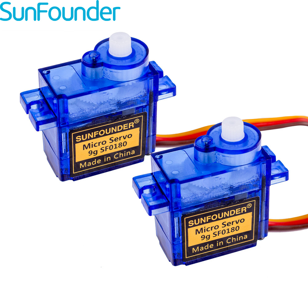 SunFounder Micro Servo 9g SG90 Servo voor Arduino Quadcopter Dron RC Helikopters Drones