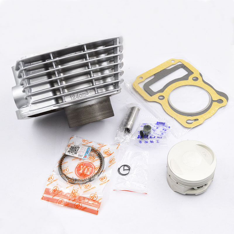 High Quality Motorcycle Cylinder Kit 13mm Pin For Honda CG125 ZJ125 CG ZJ 125 125cc Engine Spare Parts high quality motorcycle cylinder kit for