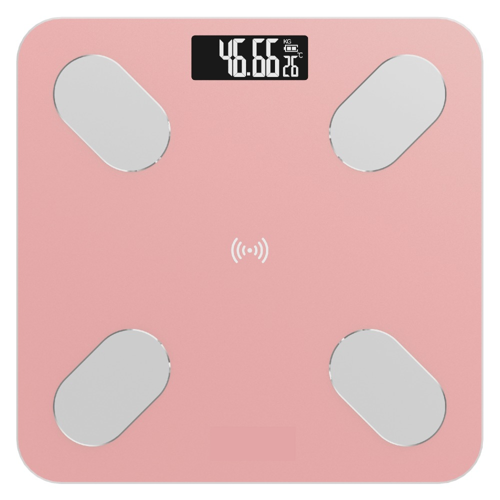 Bluetooth Fat Scale - Smart BMI Scale Digital Bathroom Weight Scale, Body Composition Analyzer With Smartphone App