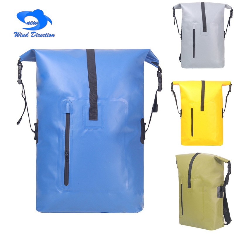 Outdoor waterproof bag 35L travel water bag camping swimming 4 Color Rafting Storage Dry Bag with Adjustable Strap Hook universal waterproof bag with strap