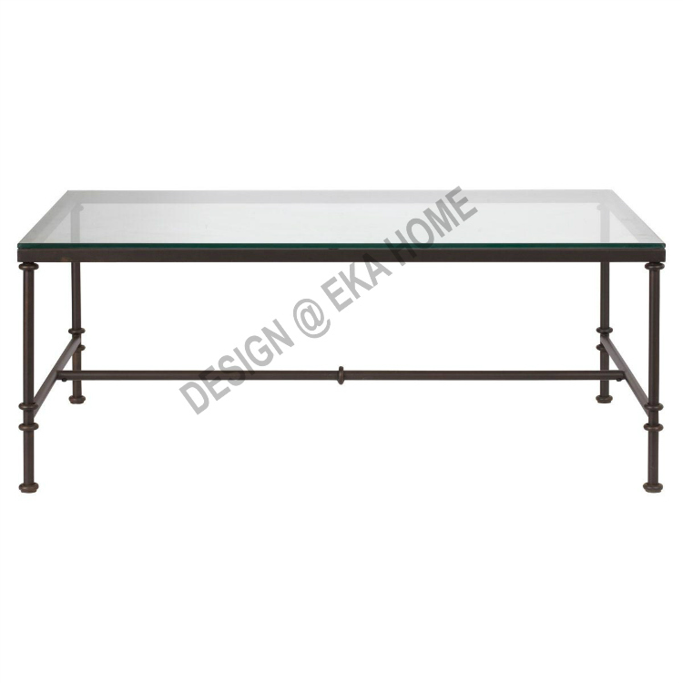Bobby European Exports More Than Wrought Iron Coffee Table Glass Coffee Table Dining Table Desk