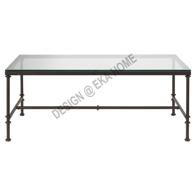 Superieur Bobby European Exports More Than Wrought Iron Coffee Table Glass Coffee  Table Dining Table Desk Distressed