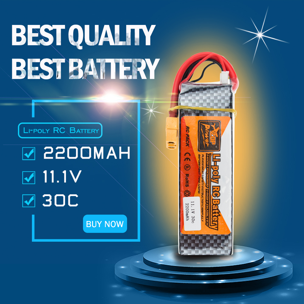 ZOP 11.1V 3S 2200Mah 30C Lipo RC Battery XT60 Plug For Helicopter Qudcopter Drone Truck Car Boat Airplane Drone Qudcopter 6s lipo 22 2v 10000mah lithium battery ec5 or t or xt60 xt90 plug for rc helicopter qudcopter drone car boat