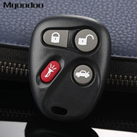 4 Button Keyless Entry Remote Car Key Fob Shell Alarm Transmitter Replacement For Chevrolet Silverado Tahoe