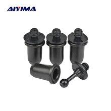 AIYIMA 4 шт. аудио динамик s Пряжка звуковая коробка гриль направляющие колышки винты активный динамик запчасти аксессуары DIY наборы для домашнего кинотеатра