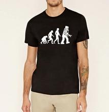 men's clothing Robot Evolution tshirt homme funny mma short sleeve top clothing pp men hip hop drake brand t shirt 2017 tops