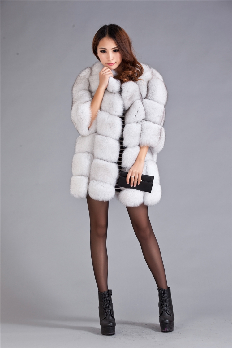 ... 2014 Spring New Genuine Real Fur OFF White Fox Fur Vest Natural Fox Fur  Coats Jacket ... - Vests Waistcoats Picture - More Detailed Picture About 2014 Spring