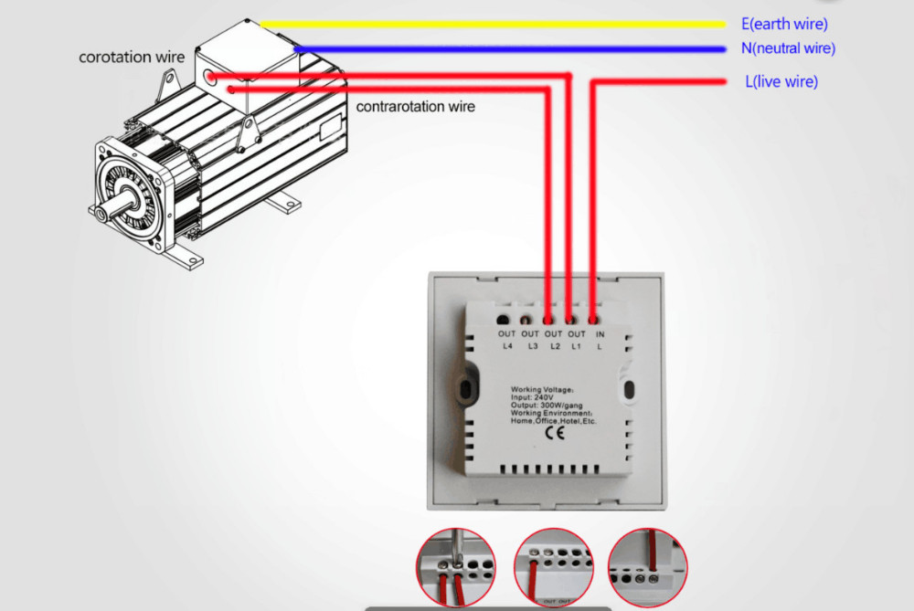 Curtain Switch Connection PIC