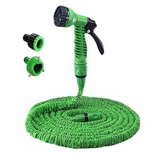 Hot Selling 25FT-100FT Garden Hose Expandable Magic Flexible Water EU Plastic Hoses Pipe With Spray Gun To Watering