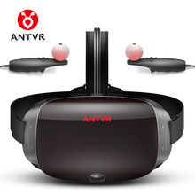 ANTVR 2018 New Virtual Reality Glasses VR PC Headset Steam Game for PC Virtual pc Glasses Binocular 110 FOV 2K VR box 3D VR 2T(China)