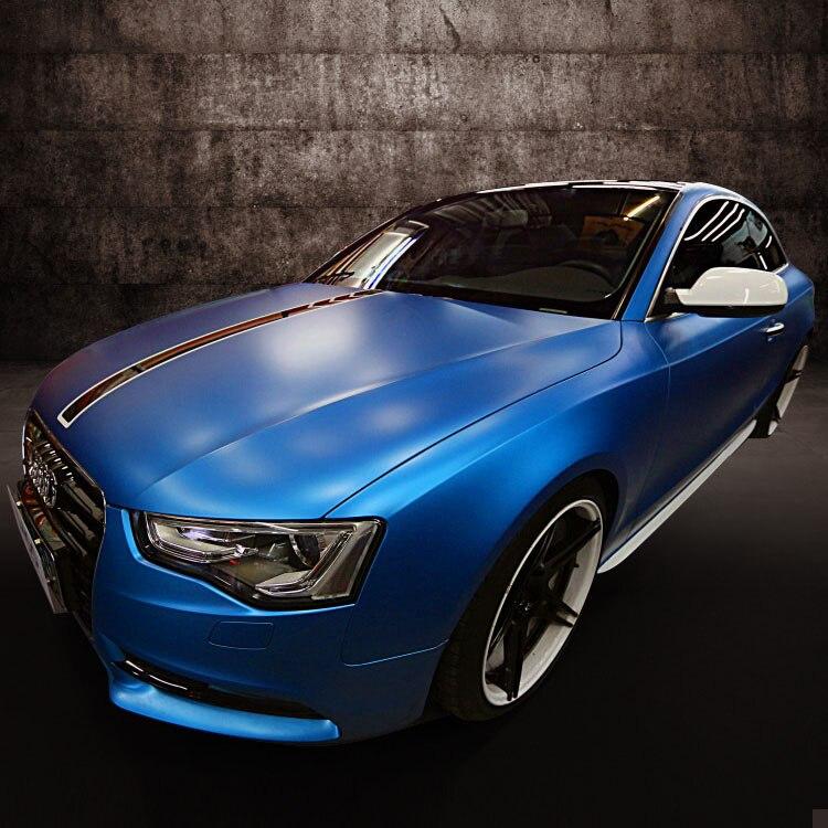 10 m x 152 cm bricolage voiture corps Film mat autocollant Auto extérieur vinyle Wrap Auto-adhésif couleur changeante Film voiture style
