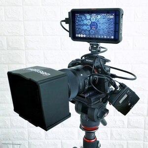 Image 5 - Monitör braketi standı 180 derece döndürülmüş monitör montaj tutucu soğuk ayakkabı ile Video ışıkları mikrofon DSLR VideoMaker Vlogger