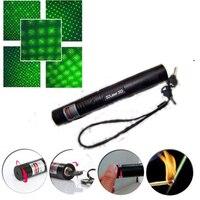 High Power Burning Laser Pointer Sdlaser 303 2000mw 532nm Powerful Green Laser Pointer Pop Ballon Astronomy