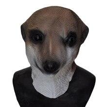 New product  Halloween Costume Animal Latex Full Head Dog Mask