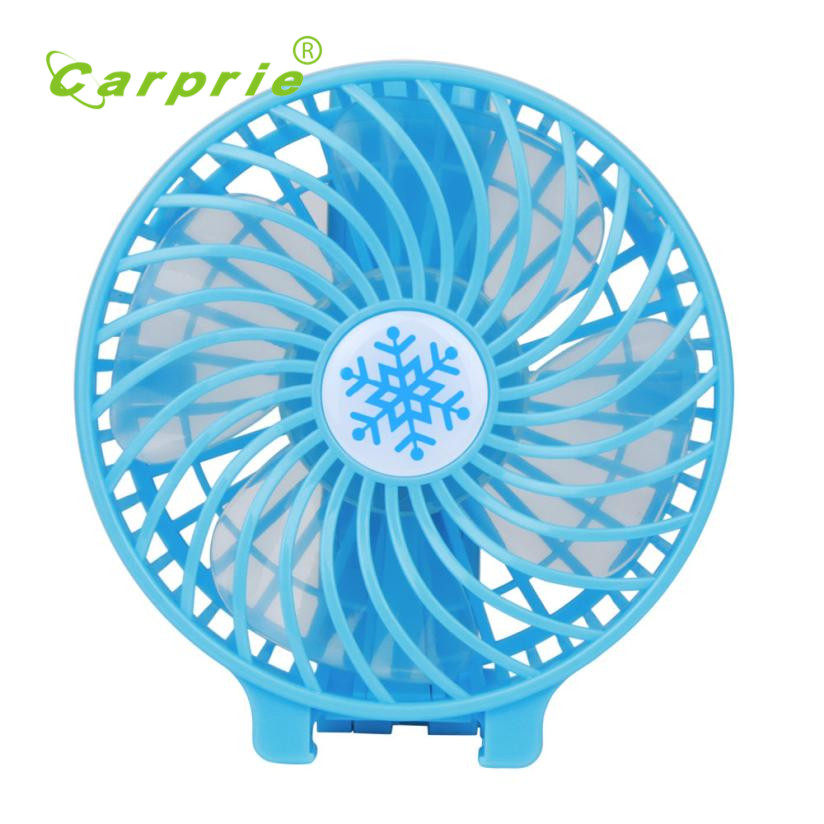 Carprie New Portable Rechargeable Fan Air Cooler Mini Operated Hand Held USB 18650 Battery 17Jun22 Dropshipping