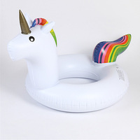 Inflatable unicorn Pool Float Circle Mattress Swimming Float Inflatable Pool Ring Toys for piscina Summer Water Fun Toy