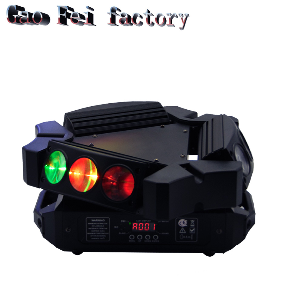 1pcs/lot 2017 products 9pcs 12W 4 in 1 cree led moving head beam spider stage light1pcs/lot 2017 products 9pcs 12W 4 in 1 cree led moving head beam spider stage light