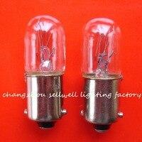 مصغرة مصباح 230V 5W BA9S T10X28 CE CC-7A A872 جديد 10 قطعة sellwell الإضاءة