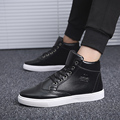 Men Casual Shoes Autumn And Winter New Arrival Lace-up High Style Leisure Fashion Youth Shoes Trend Martin Flat Male Boots