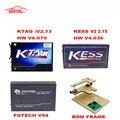 2017 melhor qualidade KTAG ECU Programador V2.13 + FG TECNOLOGIA Galletto 4 KESS V2 + QUADRO BDM V54 + V2.30 Adaptadores Completa Sem Tokens DHL Livre navio