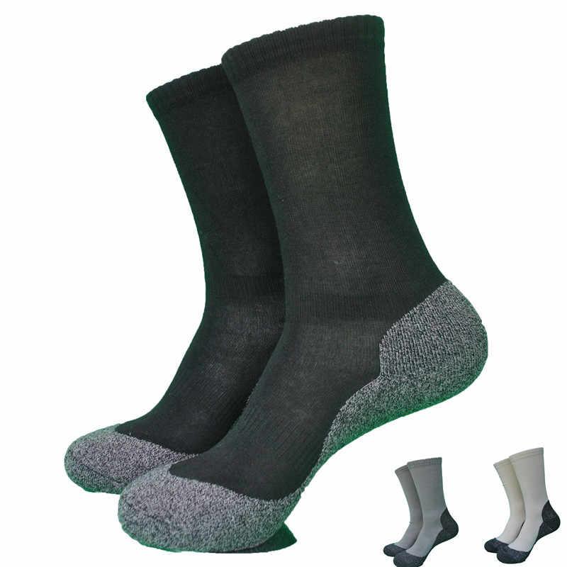 Голая Гора махровые толстые Бамбуковые & Coolmax прогулочные носки женские носки мужские носки