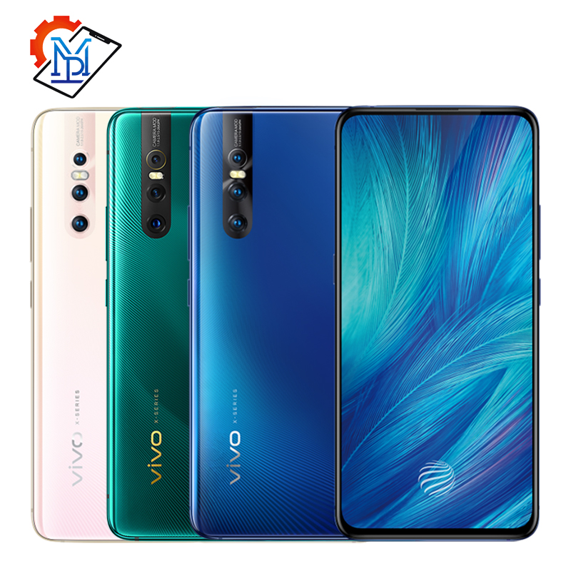 Original Vivo X27 Mobile Phone 6.39 inch 8GB RAM 128GB ROM Snapdragon 675 Android 9 48.0MP THree Shots 4000mAh Smartphone