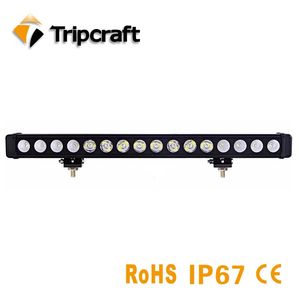 High Power 160W LED Work Light 28INCH LED OFFROAD LIGHT BAR for work indicators Car Boat Truck Tractor 4x4 SUV ATV LED light bar