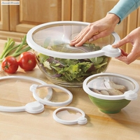 Smart Lids Vac Seals Microwaveable Lids 4 Pack