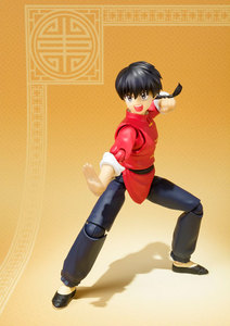 "Image 4 - Japan Anime ""Ranma 1/2"" Original BANDAI Tamashii Nations S.H.Figuarts / SHF Action Figure   Ranma Saotome"
