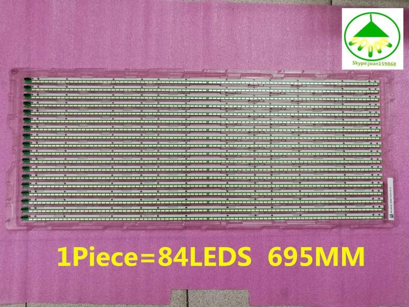 55E610G LC550EUN(SF F1) 6922L-0048A LED strip 55 V13 Edge REV0.2 6920L-0001C 6916L1092A 1 Piece 84LED 695MM Free shipping  55E610G LC550EUN(SF F1) 6922L-0048A LED strip 55 V13 Edge REV0.2 6920L-0001C 6916L1092A 1 Piece 84LED 695MM Free shipping
