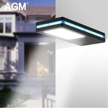 Lámpara Solar AGM 144 Led resistente al agua Sensor de movimiento PIR lámpara de pared alimentada al aire libre luz Solar de emergencia para jardín